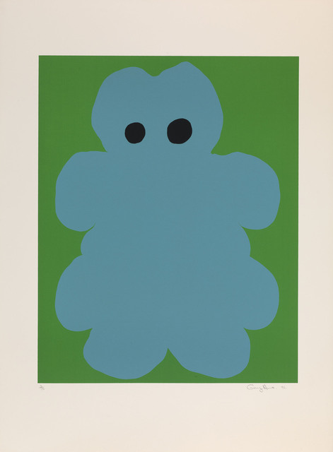 Gary Hume, 'Untitled (Teddy Bear)', 1995, ICA London Benefit Auction