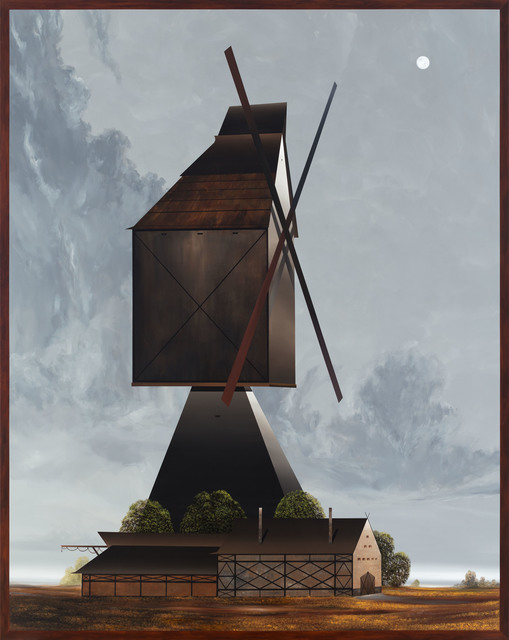 , 'Die große Windmühle,' 2017, Galerie EIGEN + ART
