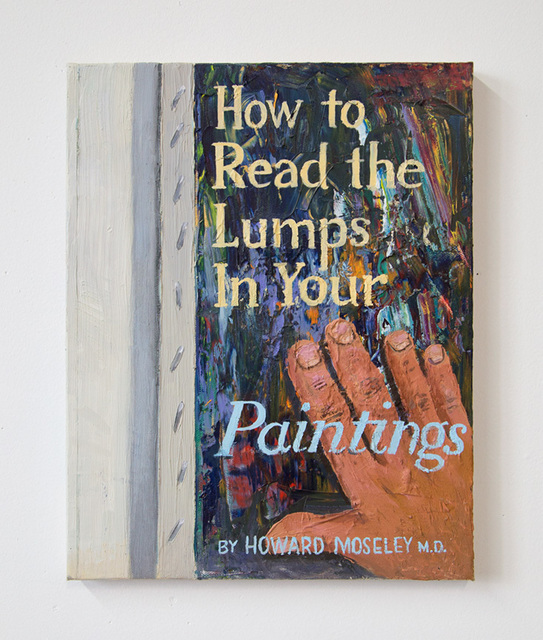 , 'Reading the Lumps,' 2015, Alex Sewell