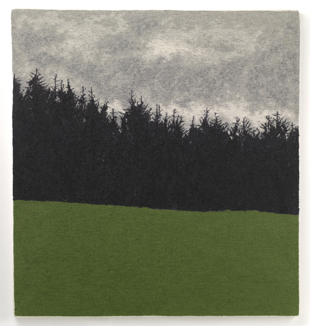 , 'Forest With New Green,' 2017, The Scottish Gallery