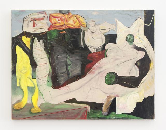 , 'Visitation,' 2017, Denny Dimin Gallery