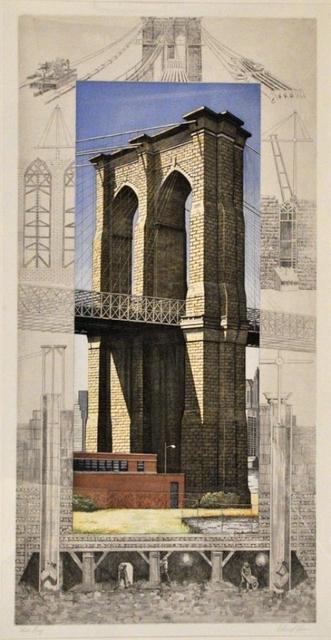 Richard Haas, 'Brooklyn Bridge', 1994, Elizabeth Clement Fine Art