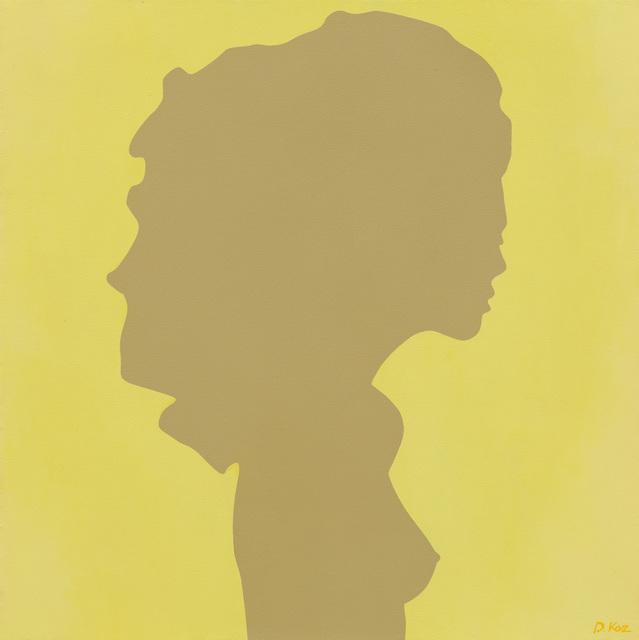 Daniel Kozeletckiy, 'Shadow of a young girl on yellow', 2019, Artig Gallery