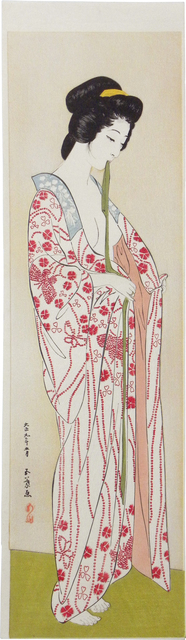 Goyo Hashiguchi, 'Woman in Long Under Garment', ca. 1920, Scholten Japanese Art