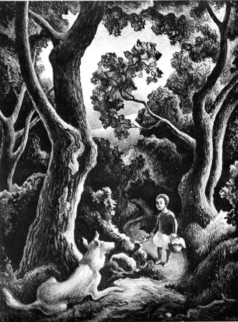 Thomas Hart Benton, 'Jessie and Jake', 1942, Kiechel Fine Art