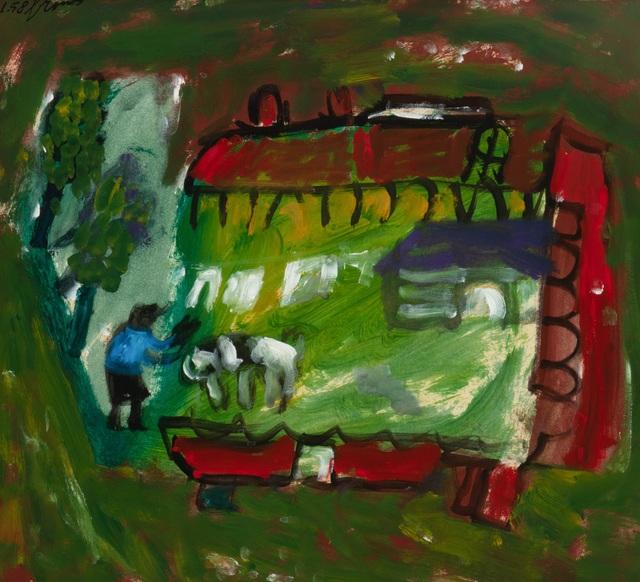 Eugène Brands, 'De boerderij (The farm)', 1958, Okker Art Gallery
