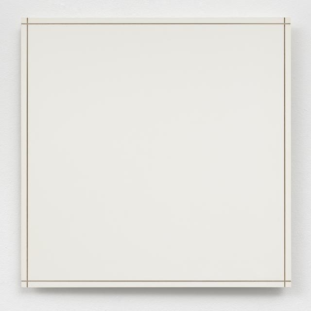 , 'Twee maal twee begrenzingsfreeslijnen / Twice two boundary incisions,' 1972, The Mayor Gallery
