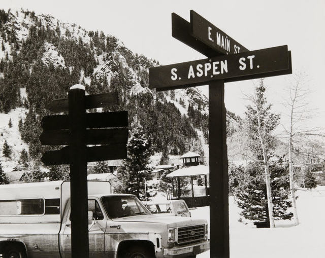 Andy Warhol, 'Andy Warhol, Photograph of Street Signs in Aspen, 1980s', 1980s, Hedges Projects