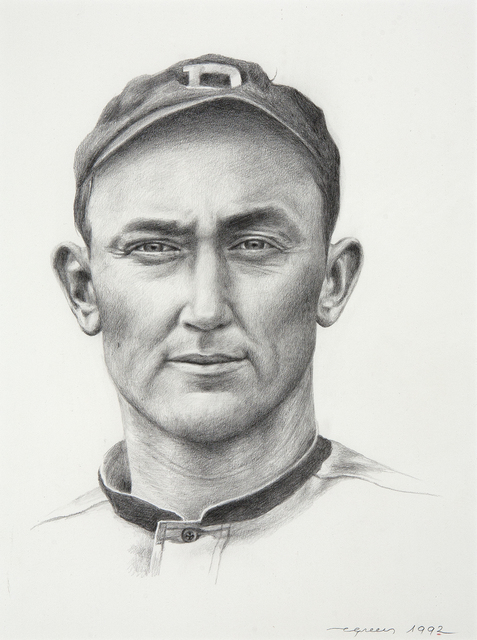 , 'Portrait of Ty Cobb,' , Dowling Walsh