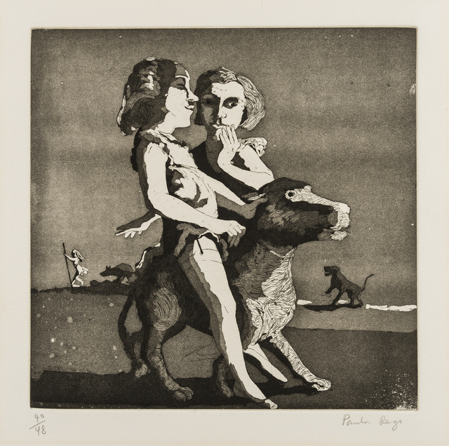 Paula Rego, 'Young Predators', 1987, RAW Editions Gallery Auction