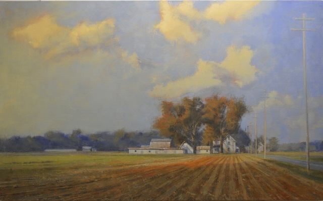, 'October Eastern Shore,' 2015, C. Grimaldis Gallery