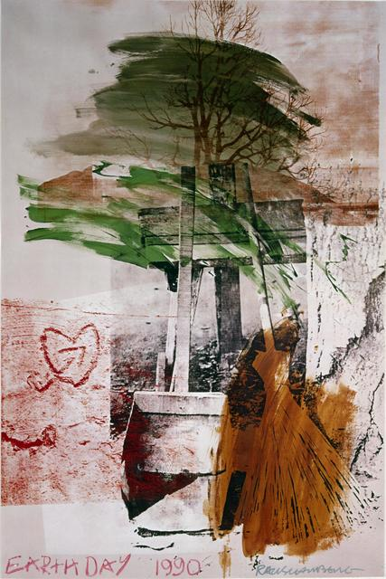 Robert Rauschenberg, 'Earth Day', 1990, Hamilton-Selway Fine Art