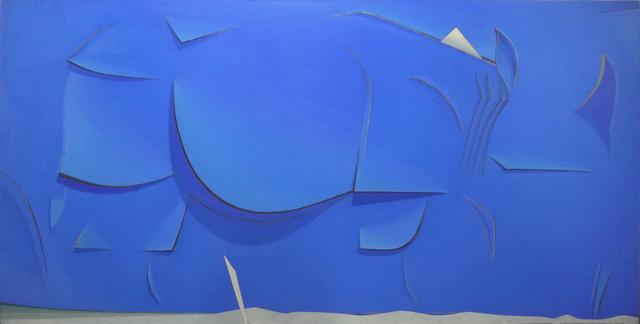 , 'Ultramarine,' 2017, Galerie Huit
