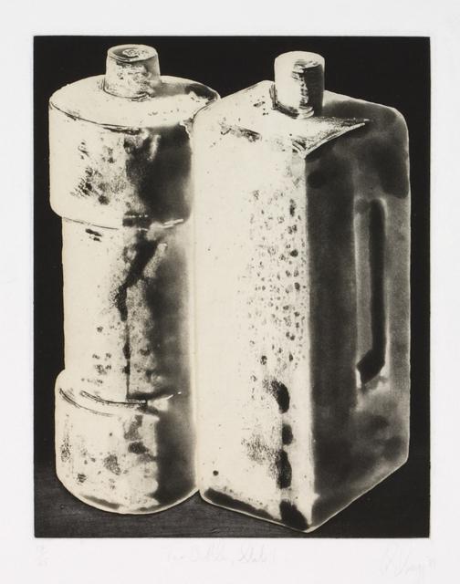 Tony Cragg, 'Two Bottles State 1', 1988, Zane Bennett Contemporary Art