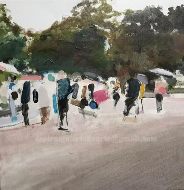 Angel Hurtado de Saracho, 'Japanesse Park', 2018, Galería Espiral
