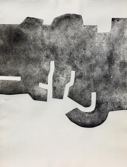 , 'Nitaz,' 1975, Galerie Lelong & Co.