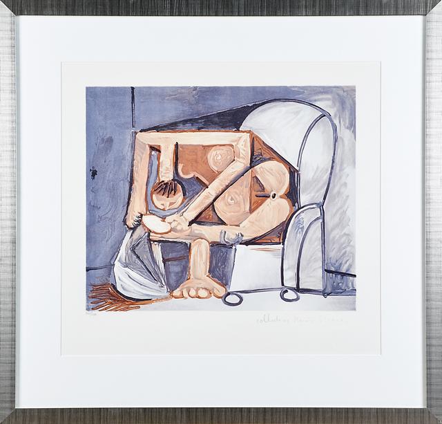 Pablo Picasso, 'Nue Allongée Et Tête D'Homme De Profil, Femme À La Toilette (Two Works)', Rago/Wright