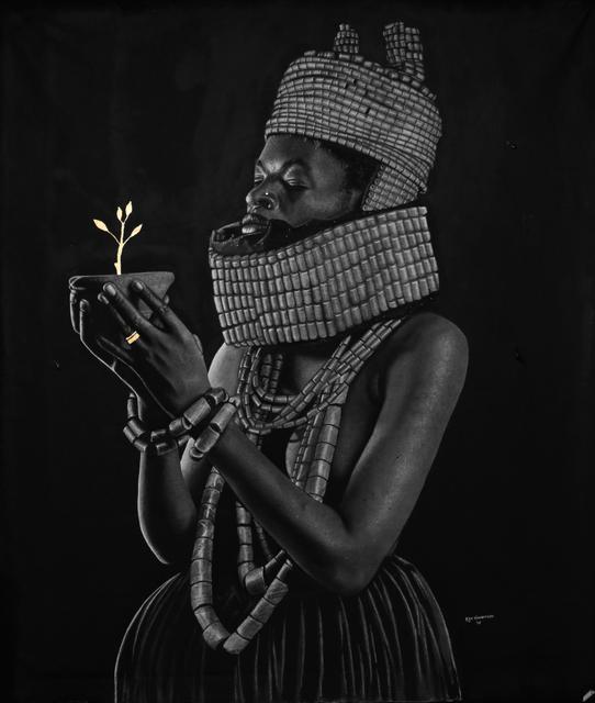 , 'HRM Oba of Benin,' 2018, Artyrama (Nigeria)