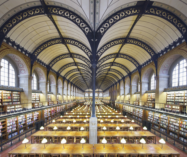 , 'Sainte-Geneviève library, Paris,' 2018, K + Y Gallery
