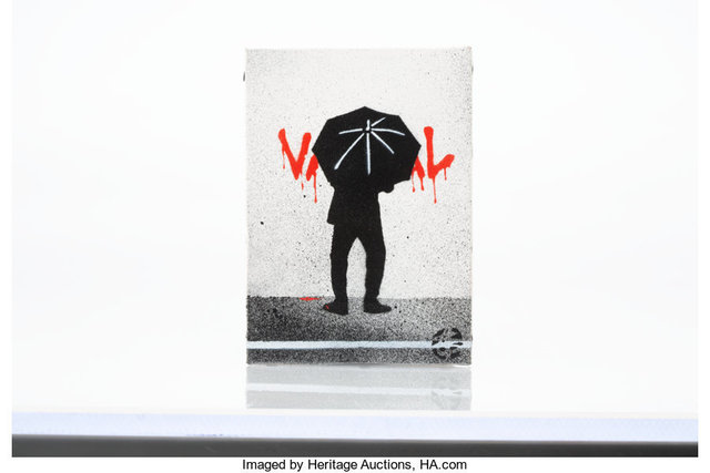 Nick Walker, 'Untitled', Painting, Acrylic and spray paint on canvas, Heritage Auctions