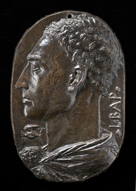 Leon Battista Alberti, 'Self-Portrait', ca. 1435, Sculpture, Bronze, National Gallery of Art, Washington, D.C.