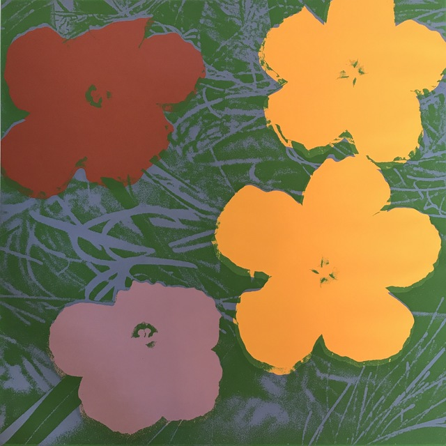 Andy Warhol, 'Flowers F&S II.65', 1970, Print, Screenprint in colors on wove paper, Fine Art Mia