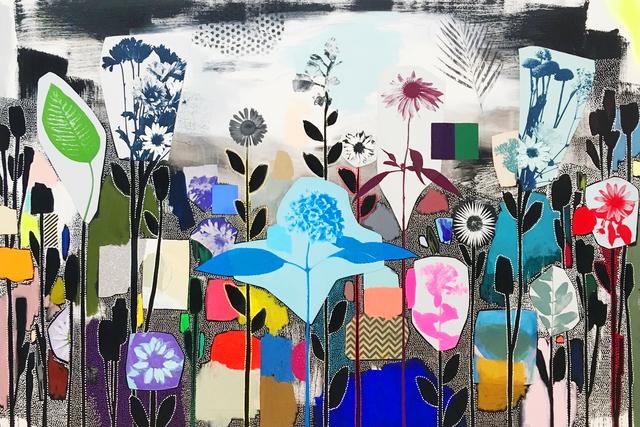 Emily Filler, 'Dreamscape (Garden Party) I', 2019, Newzones