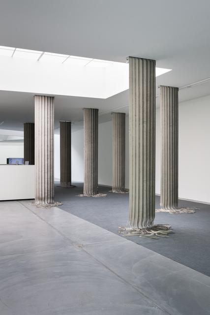 , 'Column Shred,' 2015, Galerie Nordenhake