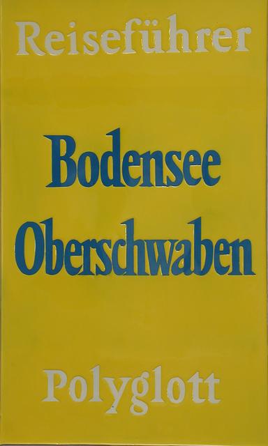 , '#01148 ReiseführerBodensee,' 1991, NUNU FINE ART