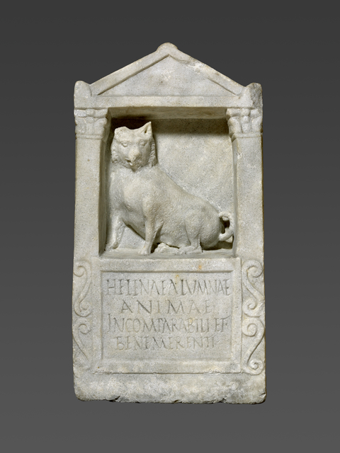 'Grave Stele For Helena', 150 -200, J. Paul Getty Museum