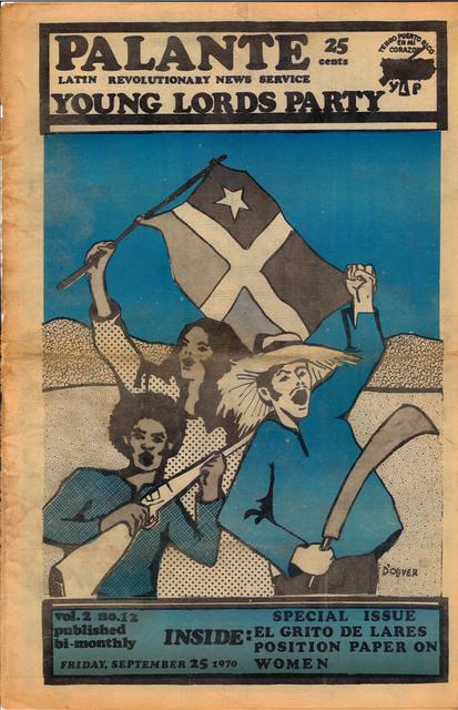 , 'Y.L.O. newspaper, v.2, n12,' 9, El Museo del Barrio