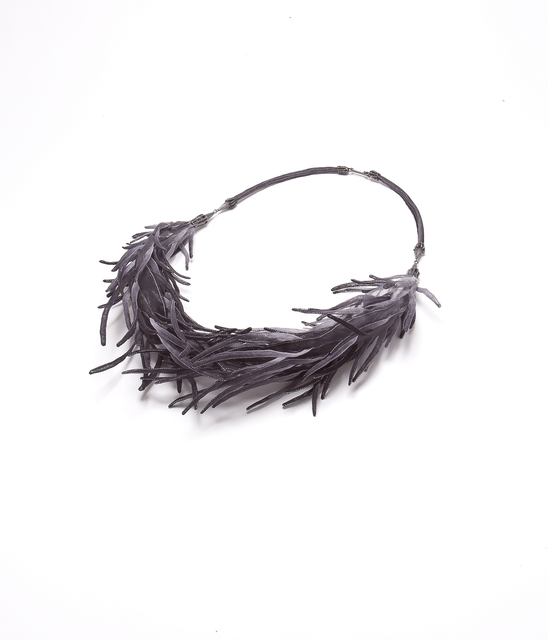 , 'Roots - Grey - Necklace,' 2018, Yun Gee Park Gallery