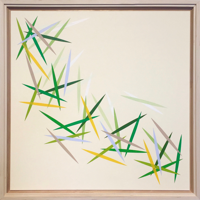 , 'Undulating (Centre),' 2018, Newzones