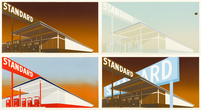 , 'i) Standard Station; ii) Mocha Standard; iii) Cheese Mold Standard with Olive; iv) Double Standard,' 1966-1969, ARCHEUS/POST-MODERN