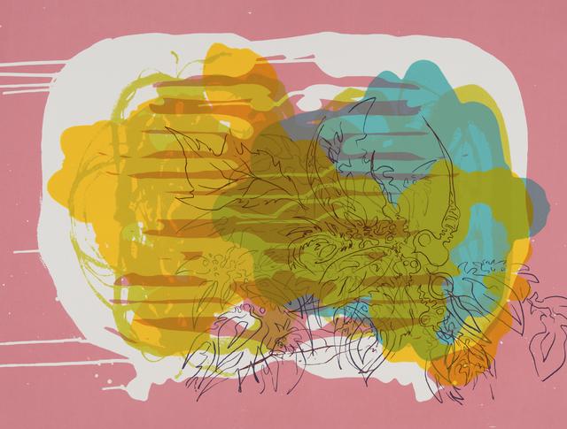 Janaina Tschäpe, 'Spilling Memory 4', 2014, Lower East Side Printshop