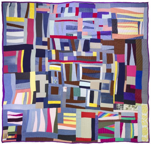 , 'Grandpa Stripes,' 2010, Mount Holyoke College Art Museum