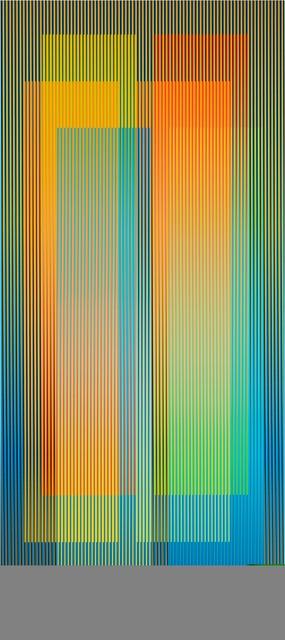Carlos Cruz-Diez, 'Couleur Additive Denise C, Ed.7/8', 2007, Galerie Pascal Janssens