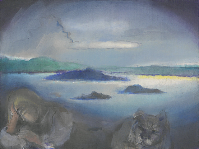 , 'Lago in tempest,' 2009, Galerie Mikael Andersen