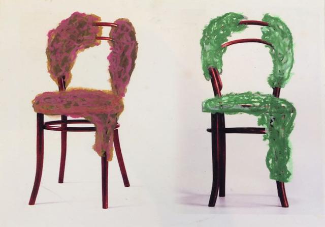 , 'Desenho sobre cadeira Thonet 3,' , Baró Galeria
