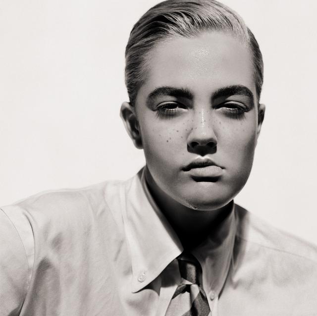 , 'Drew Barrymore (Portrait as aBoy),' 1991, CAMERA WORK