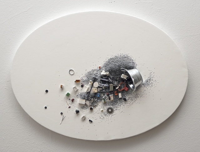 Liliana Porter, 'Lost Things with Silvery Bucket', 2014, Hosfelt Gallery