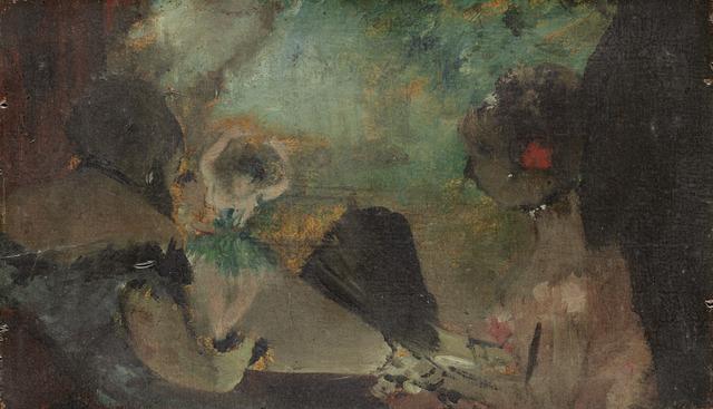 Edgar Degas, 'The Loge', ca. 1883, National Gallery of Art, Washington, D.C.