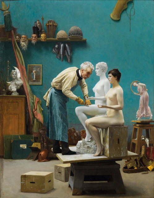 , 'Le Travail du marbre or L'Artiste sculptant Tanagra (Working in Marble or The Artist Sculpting Tanagra),' 1890, Gagosian