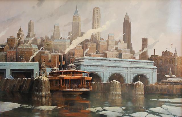 , 'Winter Crossing,' 2013, Cavalier Ebanks Galleries