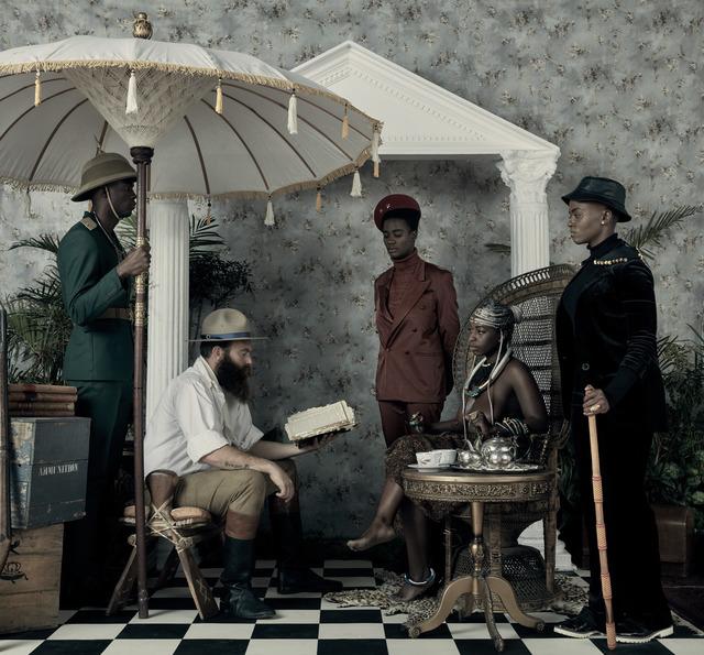 , 'Genesis (Je n'isi isi) II,' 2016, LUNDGREN GALLERY