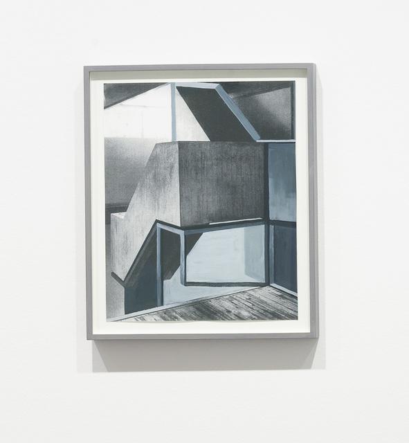 , 'Altneuland II (study),' 2007, Carroll / Fletcher