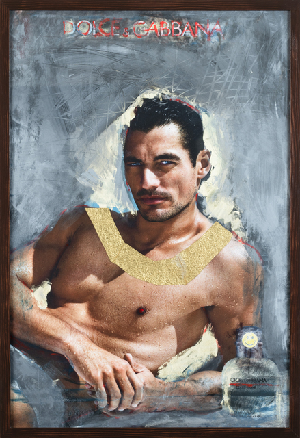 , 'D&G David Gandy Pharaoh Gold,' 2015-2018, Inda Gallery