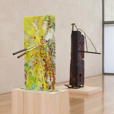, 'Installation view of Mark Grotjahn Scupture,' , Nasher Sculpture Center