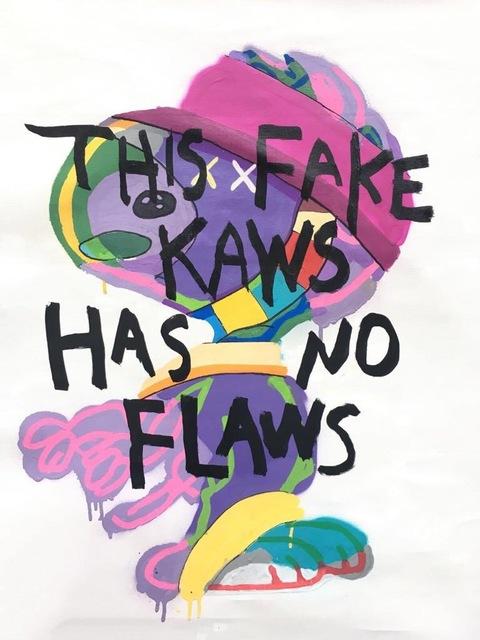 , 'FLAWLESS KAWS,' 2017, Marcel Katz Art