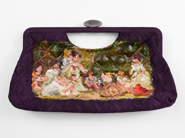 , 'First Steps Purse (after Marguerite Gerard),' 2017, Fisher Parrish Gallery